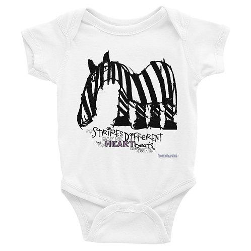 Fancy Stripes Infant Bodysuit