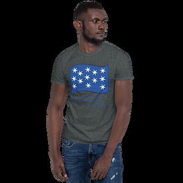 Unisex Basic TShirt-George Washington Flag