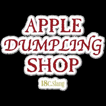 Apple Dumpling stickers