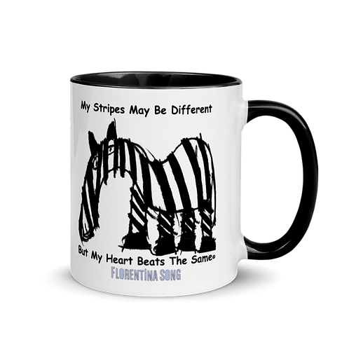 Original Stripes Mug with Color Inside