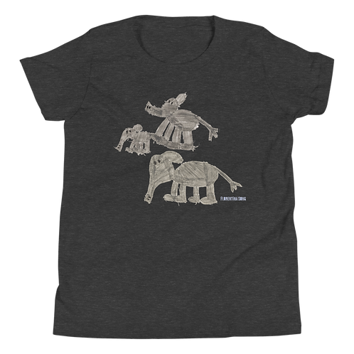 Elephant Family Youth Short Sleeve T-Shirt