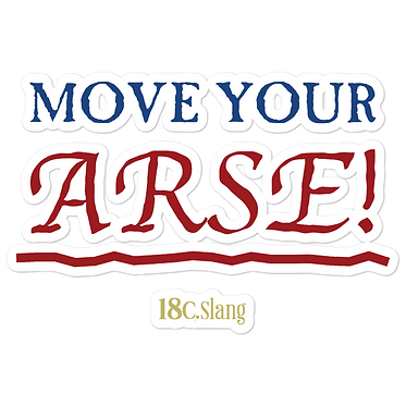 Move Your Arse stickers