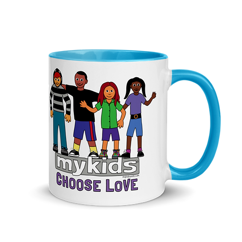 MyKids Unite Choose Love Mug with Color Inside