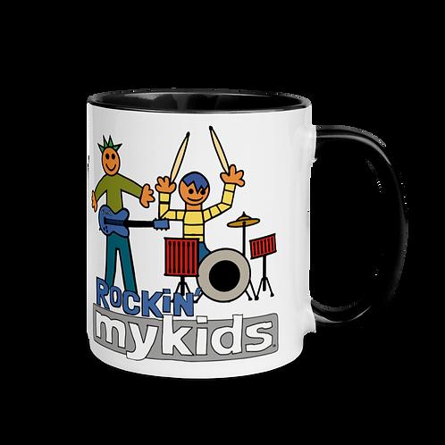 Rockin MyKids Mug with Color Inside