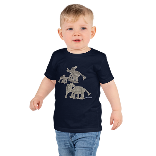 Elephant Family Short sleeve kids t-shirt