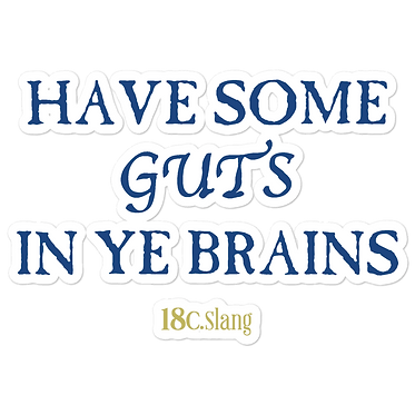 Have Some Guts stickers