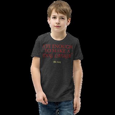 Youth Unisex TShirt-Dog Laugh