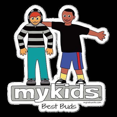 MyKids Unite Best Buds Bubble-free stickers