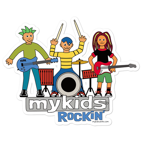 Rockin MyKids Bubble-free stickers