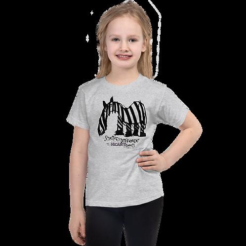 Fancy Stripes Short sleeve kids t-shirt