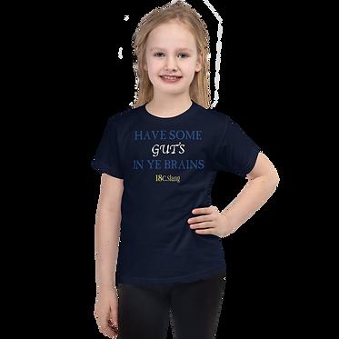 Unisex Kids TShirt-Guts Brains