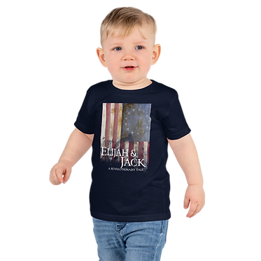 Unisex Kids TShirt-Colonial Flag