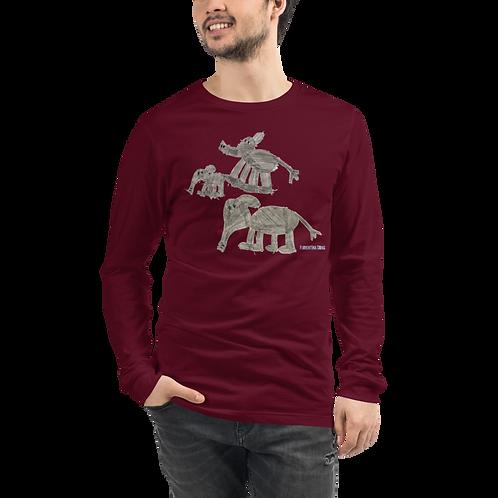 Elephant Family Unisex Long Sleeve Tee
