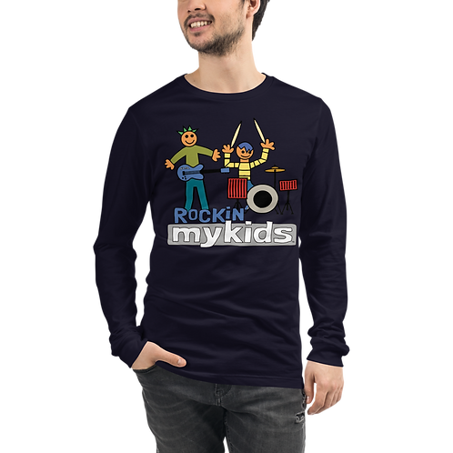 Rockin MyKids Friends Unisex Long Sleeve Tee