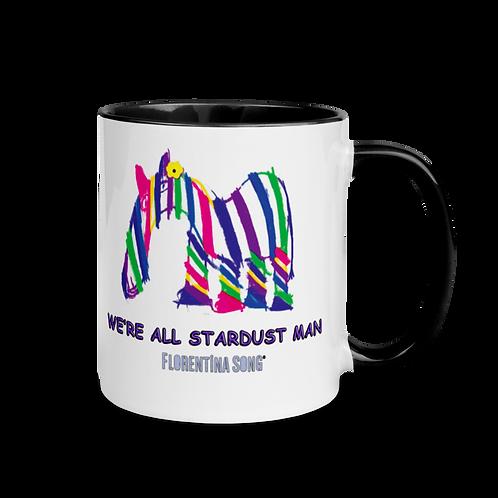 Stardust Stripes Mug with Color Inside
