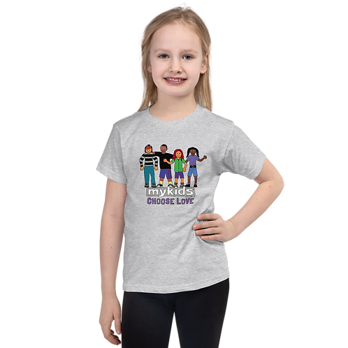 MyKids Unite Choose Love Short sleeve kids t-shirt
