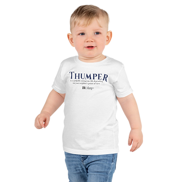 Unisex kids TShirt-Thumper Two