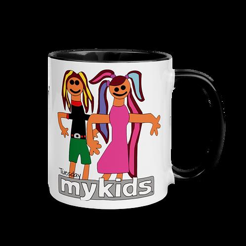 MyKids Friends Tuesday Mug with Color Inside