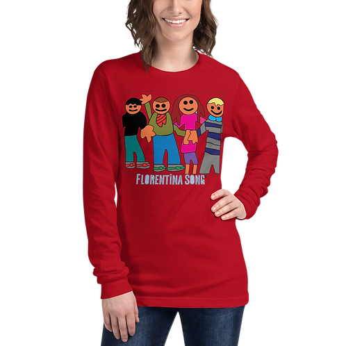 KyKids Friends Unisex Long Sleeve Tee