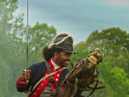 African American Horse Soldiers - George Washington's Army