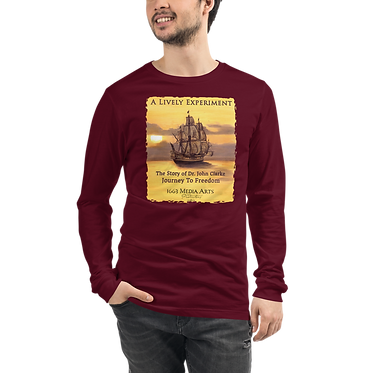 Colonial Ship Unisex Long Sleeve Tee