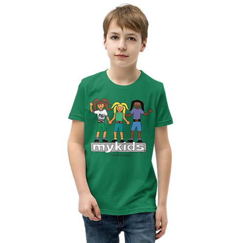 MyKids Unite Wednesday Youth Short Sleeve T-Shirt