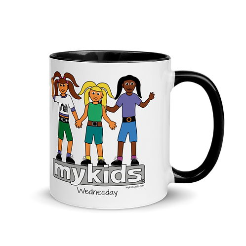 MyKids Unite Wednesday Mug with Color Inside