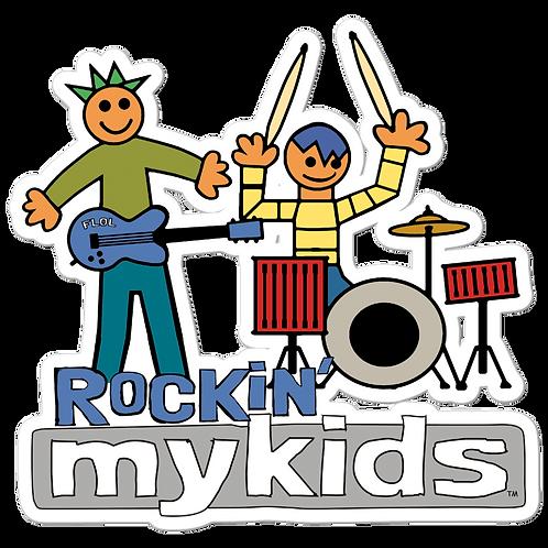 Rockin MyKids Friends Bubble-free stickers