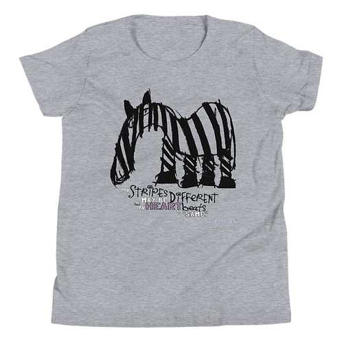 Fancy Stripes Youth Short Sleeve T-Shirt
