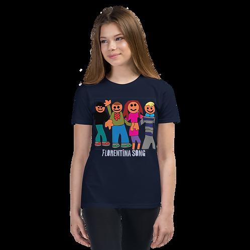 MyKids Friends Youth Short Sleeve T-Shirt