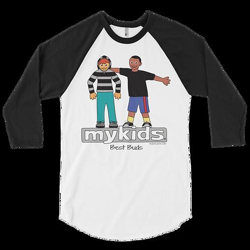 MyKids Best Buds 3/4 sleeve raglan shirt
