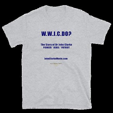 WWJCD? Short-Sleeve Unisex T-Shirt