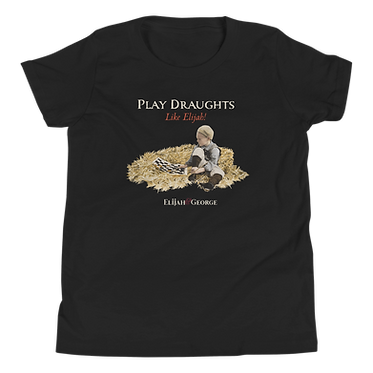 Unisex Youth TShirt-Play Draughts Like Elijah