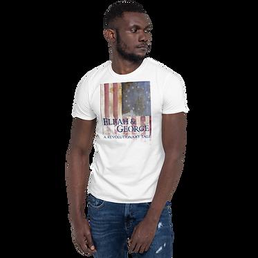 Unisex Basic TShirt-E&G Colonial Flag