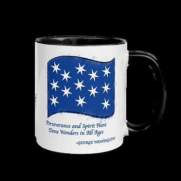 George Washington Flag Mug