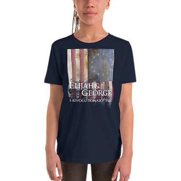Unisex Youth T-Shirt-E&G Colonial Flag