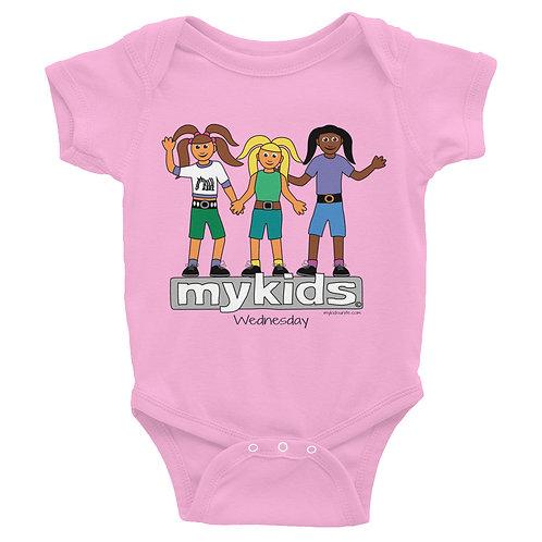 MyKids Unite Wednesday Infant Bodysuit