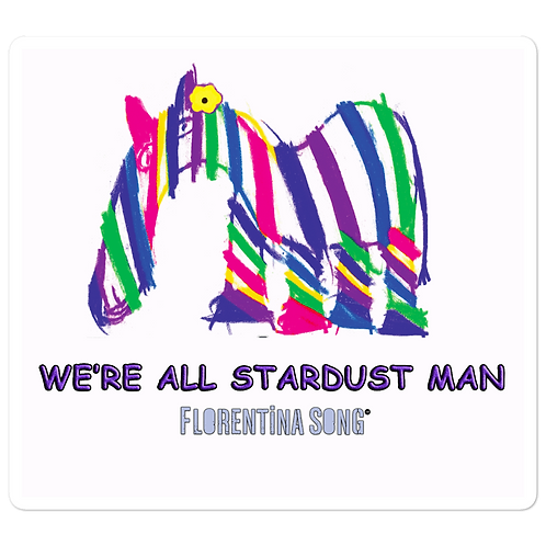Stardust Stripes Bubble-free stickers