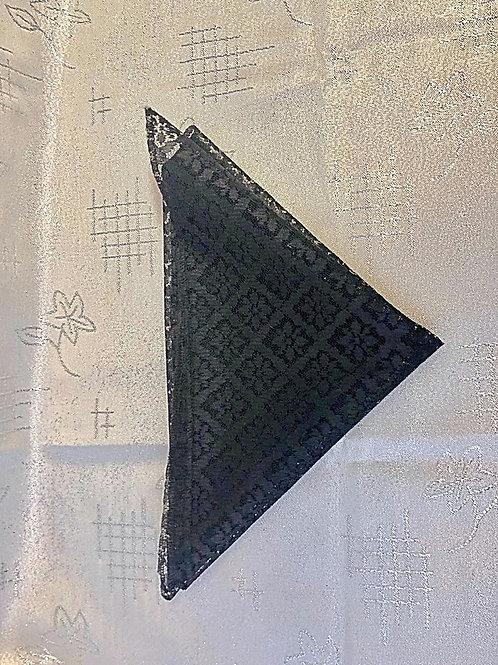 черный платок фото