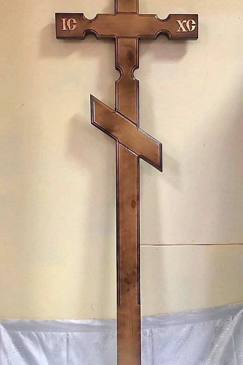 крест на могилу деревянный фото