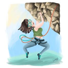 Carolinel climbing