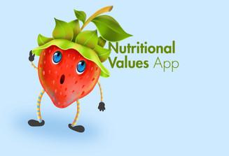 Nutritional Values app