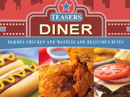 Teasers Diner Update 6/5/2020