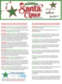 Downtown Lima Holiday Festival Schedule