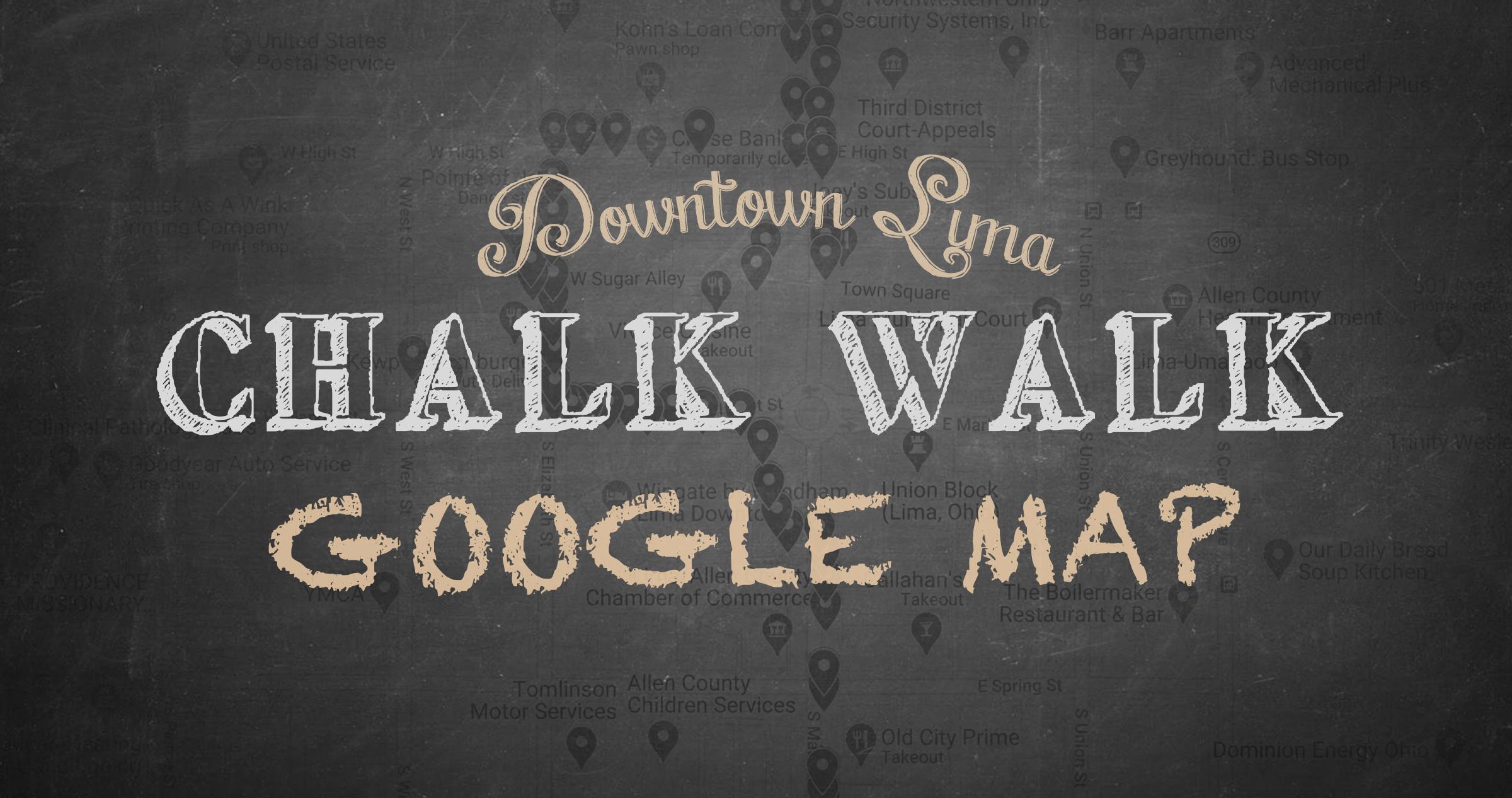 Chalk Walk Map