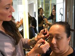 Mature ladies makeup lesson