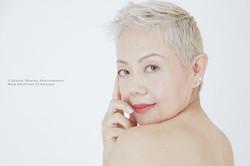 Headshot Asian makeup