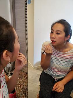 Patty makeup lesson