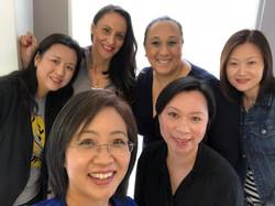 Asian ladies makeup lesson