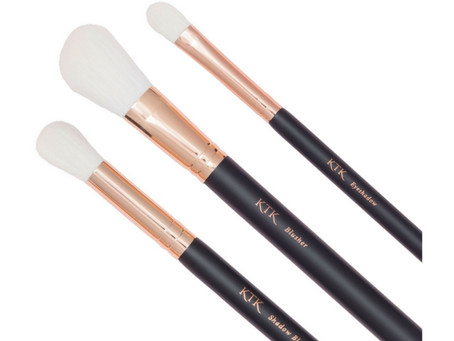 KTK Makeup Brushes: 'Part 2' Blusher,Shadow Blender & the Eye Shadow Brush!